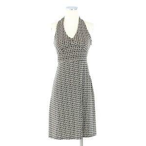Ann Taylor Black & White Print Dress